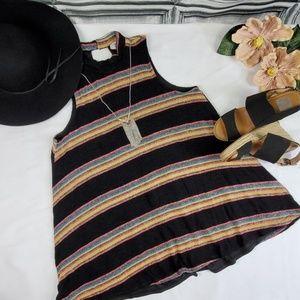 Gypsy warrior sleeveless swing Dress. (L)